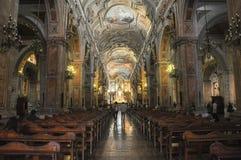 Stara katedra Santiago de Chile Zdjęcia Royalty Free