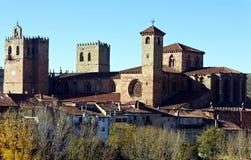 Stara katedra w Sigà ¼ enza Obraz Royalty Free