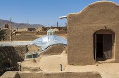 Stara Kharanagh wioska w Yazd, Iran Obraz Royalty Free