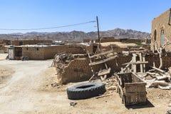 Stara Kharanagh wioska w Yazd, Iran Zdjęcie Royalty Free