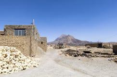 Stara Kharanagh wioska w Yazd, Iran Zdjęcia Stock