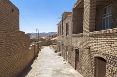 Stara Kharanagh wioska w Yazd, Iran Obrazy Stock