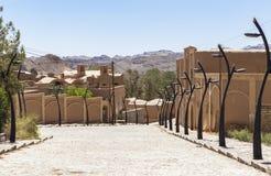 Stara Kharanagh wioska w Yazd, Iran Fotografia Stock
