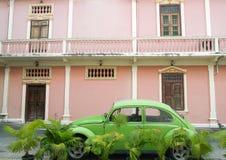 stara klasyk samochodowa zieleń Zdjęcia Royalty Free