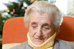 Stara kobieta obraz stock