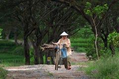 Stara kobieta Obraz Royalty Free