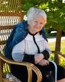 Stara kobieta zdjęcia stock