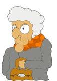 stara kobieta ilustracji