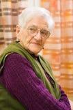 stara kobieta Zdjęcie Royalty Free