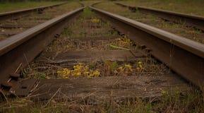 Stara kolei zmiana Obrazy Royalty Free