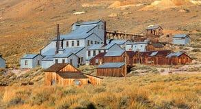 Stara kopalnia konserwująca w Bodie Fotografia Stock