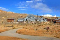 Stara kopalnia w Bodie, Kalifornia Obrazy Royalty Free