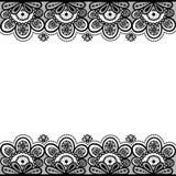 Stara koronka, rocznika tło, wektorowa ilustracja Obraz Stock