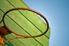 Stara koszykówka Obrazy Royalty Free