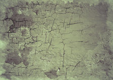 Stara krakingowa ścienna tło tekstura Zdjęcie Stock