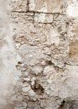 Stara krakingowa ściana obrazy royalty free
