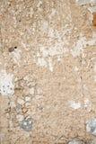 Stara krakingowa ściana obraz royalty free