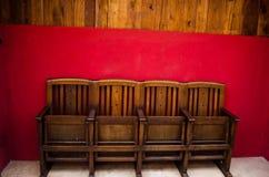Stara krzesło ulica obraz stock