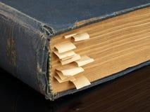 Stara książka z bookmarks Obraz Stock