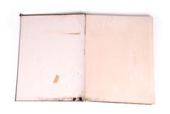 stara książkowa notatka Obraz Royalty Free