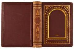 Stara książkowa pokrywa zdjęcia royalty free