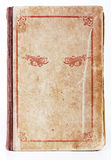 Stara książkowa pokrywa z ornamentem Zdjęcia Stock