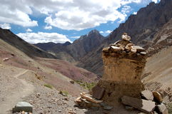 stara ladakh stupa Obraz Stock
