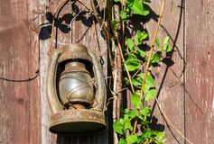 stara lampa nafty Fotografia Royalty Free