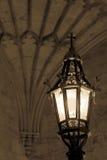 Stara lampa - Oksfordzka Chrystus szkoła wyższa Obrazy Royalty Free