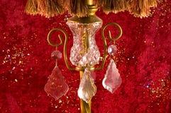 stara lampa wiktoriańskie crystal fotografia stock