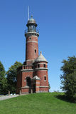 Stara latarnia morska Kiel Holtenau Obrazy Royalty Free