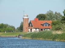 Stara latarnia morska, Lithuania Obraz Royalty Free
