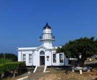 Stara latarnia morska Przegapia Kaohsiung schronienie Obraz Royalty Free