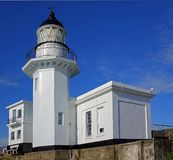 Stara latarnia morska Przegapia Kaohsiung schronienie Obraz Stock