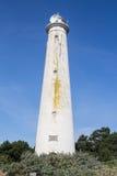 Stara latarnia morska przy Schiermonnikoog Zdjęcie Stock