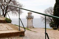 Stara latarnia morska w Rovinj Obrazy Royalty Free