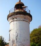 Stara latarnia morska w Tellicherry forcie, Kannur, Kerala, India Zdjęcia Stock