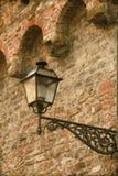 Stara latarnia uliczna - rocznik Zdjęcie Royalty Free