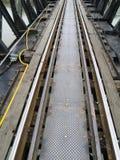stara linia kolejowa Fotografia Royalty Free