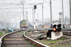 stara linia kolejowa Zdjęcia Stock