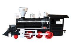 Stara lokomotywa odizolowywająca Real jeden, notatki zabawka lub model, Zdjęcia Royalty Free