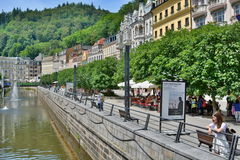 Stara Louka. Karlovy Vary. Czech Republic Royalty Free Stock Photography