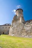 Stara Lubovna城堡,斯洛伐克 库存图片