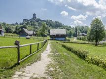 Stara Lubovna城堡,斯洛伐克 免版税库存图片