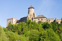 Stara Lubovna城堡 免版税图库摄影