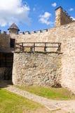 Stara Lubovna城堡 图库摄影