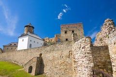 Stara Lubovna城堡 库存照片