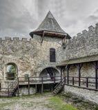 Stara Lubovna - κάστρο στη Σλοβακία στοκ εικόνες με δικαίωμα ελεύθερης χρήσης
