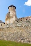 Замок Stara Lubovna Стоковое Фото