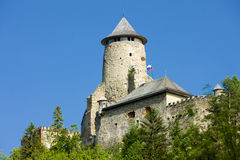 Stara Lubovna Castle. In Slovakia royalty free stock images